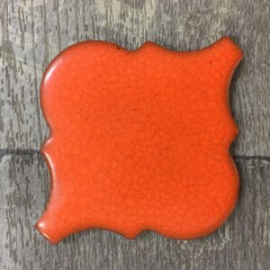 Burnt Orange Lantern Tile approx 0.5m2 $44/Job Lot