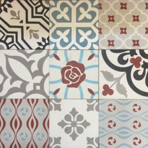 Cement Tile Mix Rose $66 OUT OF STOCK