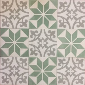 Cement Tile Mix Garden – $99