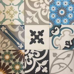 Cement Tile Mix Patchwork 2 $66 OUT OF STOCK