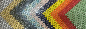 Coloured Mosaic Tiles
