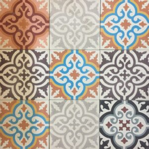 Cement Tile Mix Flamenco $99 SOLD OUT