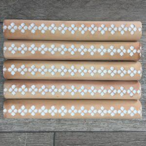Lily Border Tile – $5.50ea