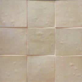 The Tile Studio Zellige Range Natural Sample Board