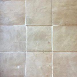 The Tile Studio Zellige Range White Sample Board